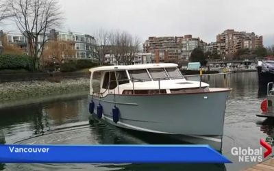 Greenline Hybrid at 2017 Vancouver Boat Show